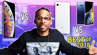 iPhone XS Max vs Note 9 vs Pixel 3 XL Which is the BEST Smartphone of 2018