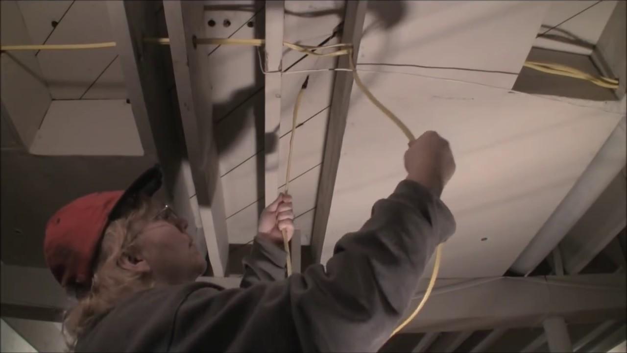 Safe Home Rewire Youtube Rewiring A Room