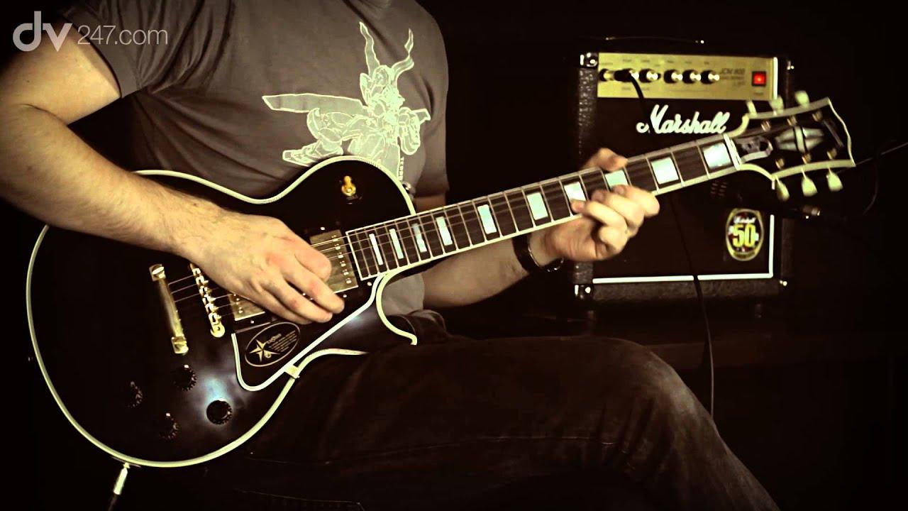 Gibson 1957 Les Paul Custom 3 Pickup VOS Electric Guitar Tone Demo ...