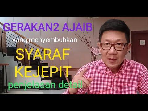 Berbagai Gangguan Syaraf dan Solusinya  oleh dr Zaidul Akbar.