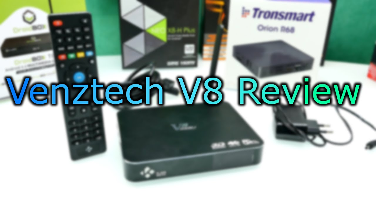 Venztech V8 Android TV-Box Review - Amlogic S812 - 2K 4K Android TV Box !  [4K]