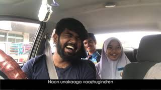 Syafa Wany learn to sing Amalina அமாலினா Tamil version Part2