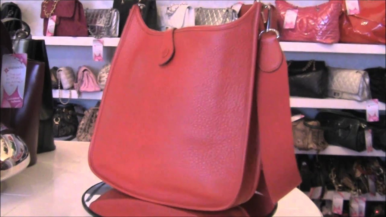 real vs fake hermes evelyne 3