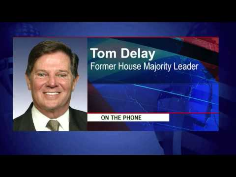 Tom Delay, former congressman for the 22nd district of Texas and former House Majority Leader
