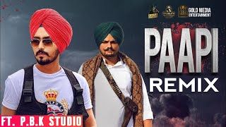 Download lagu Paapi Remix | Rangrez Sidhu | Sidhu Moosewala | The Kidd |  ft. P.B.K Studio