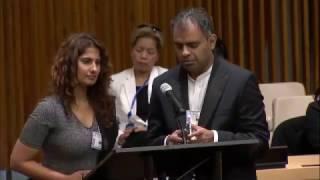 Ahhaa Meditation at the United Nations