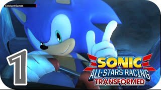 Sonic & All-Stars Racing Transformed - » Parte 1 [OPENING] « - Español [HD]