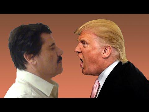 El Chapo Amenaza a Donald Trump ◄Audio Mejorado►