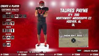 Houston Football: 2019 NSD: Taures Payne