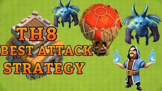 "BEST TH8 ""Loonion"" ATTACK STRATEGY GUIDE!! Clash of Clans BEST Town Hall 8 Attack Strategy 2017"