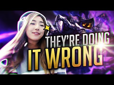 JANET IS TOXIC?! | XCHOCOBARS LEAGUE OF LEGENDS