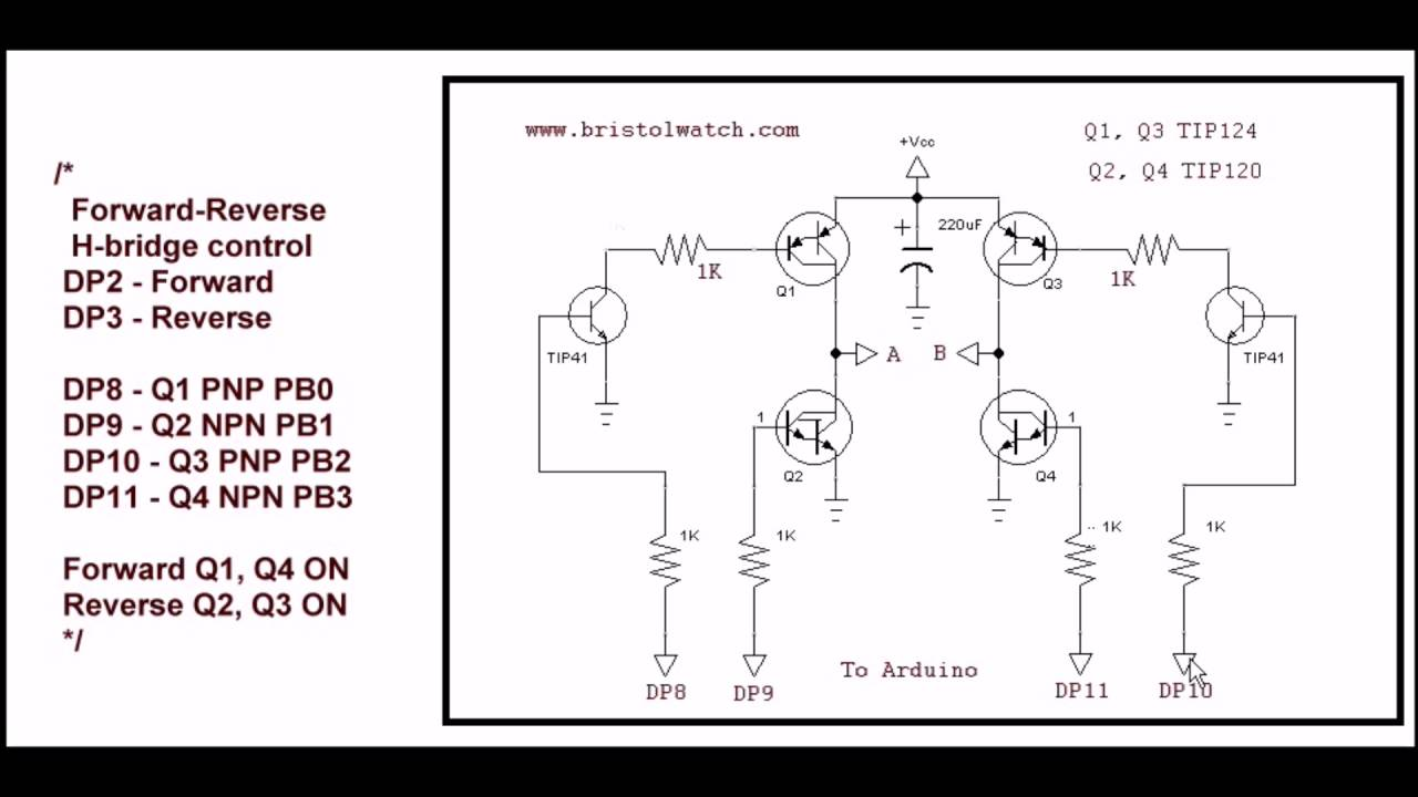 Safely Program H Bridge Motor Controller Youtube Control With Power Mosfets