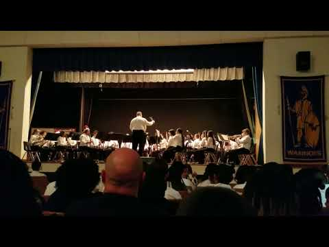 Wedgwood Middle School Honor Band March of the Dwarfs