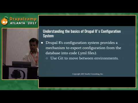 DCATL 2017 - Drupal 8 Configuration System Basics on YouTube