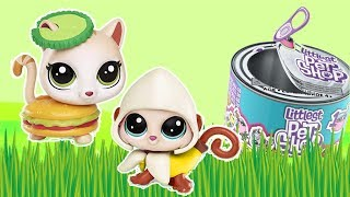 Littlest Pet Shop • Głodne zwierzaki LPS & Zabawy zwierzaków • bajki dla dzieci