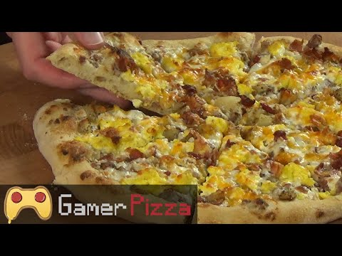 How to Make a Loaded Breakfast Pizza