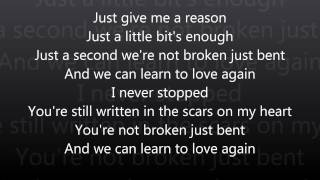 Pink   Just Give Me a Reason   Letra
