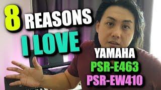 Why I *LOVE* ❤️ Yamaha PSR-E463 | Yamaha PSR-EW410