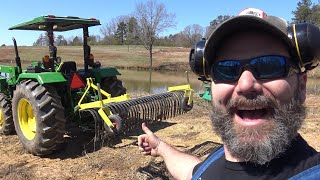 "Meet ""Rakey Bobby"" The Landscape Rake!! Dump Trucks, Lessons Learned, Breakdowns!"