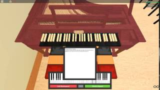 Harry Potter Theme on a ROBLOX piano.
