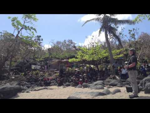 Indago Quad Copter Conducts Disaster Relief Efforts in Vanuatu