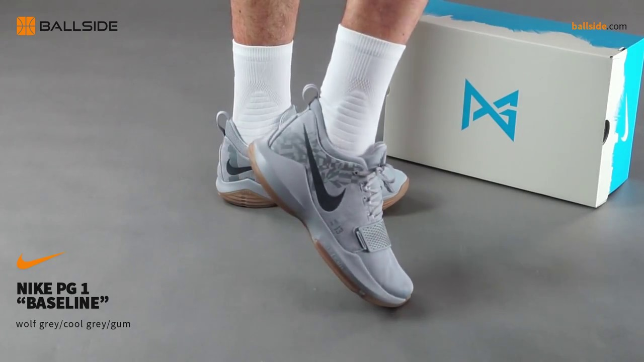 fa9c0169d0e Nike PG 1 Baseline on feet - YouTube