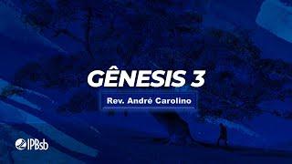 """2021-01-17 - """"A resposta da Graça"""" - Gn. 3 - Rev. André Carolino - Trans. Matutina"""