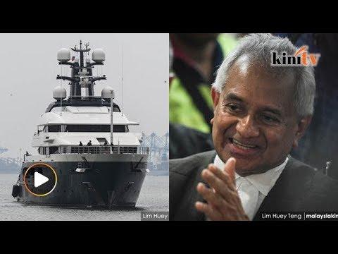 Kapal layar RM1 bilion Equanimity akan 'dicairkan'