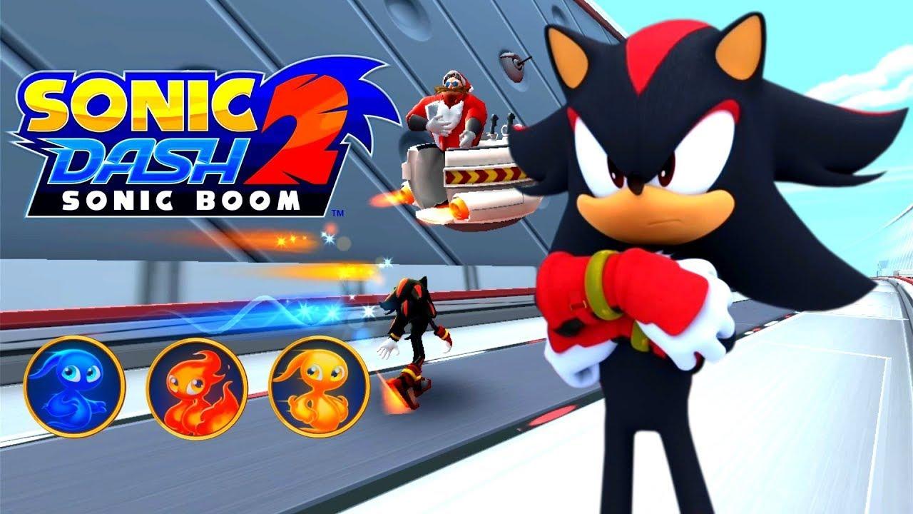 Sonic Dash 2 Sonic Boom Gameplay - YouTube
