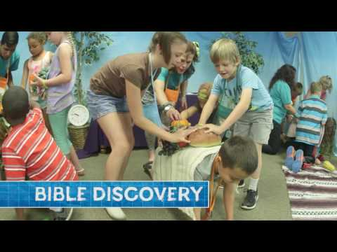 Bible Discovery at Maker Fun Factory | Group VBS 2017