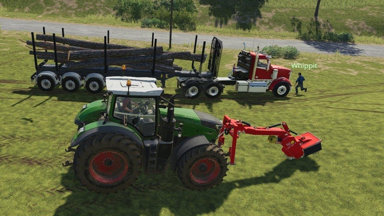 AUTOLOADER [MOD] | Farming Simulator 19 - смотреть онлайн на Hah Life