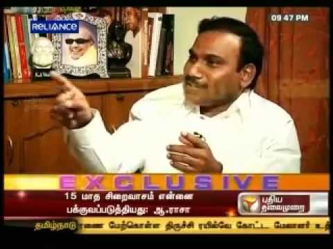 A Raja Interview on Puthiyathalaimurai TV HD