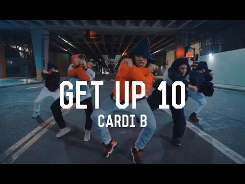 Cardi B - Get Up 10 | Choreography By Tia Rivera