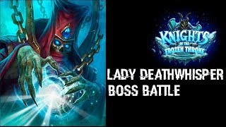 Hearthstone - Как да победим Lady Deathwisper с Basic Priest Deck