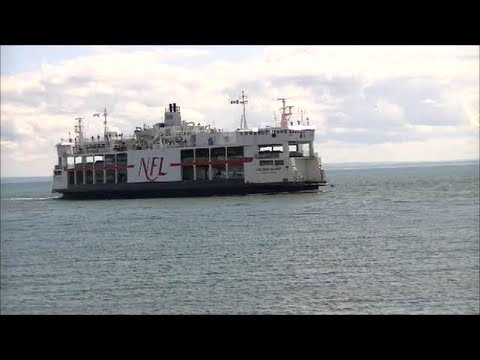 MV Holiday Island Ferry Arrival & Departure