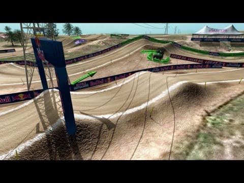 2013 Hangtown Motocross Animated Track Map