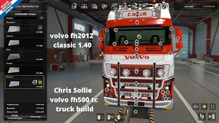 Ets 2 Chris Sollie Volvo Fh500 Build Truck D.T.M Dutch Trucker Mario