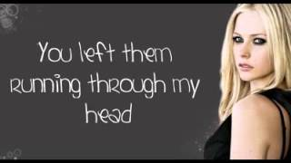 Avril Lavigne   Wish You Were Here Lyrics On Screen NEW FULL SONG   YouTube