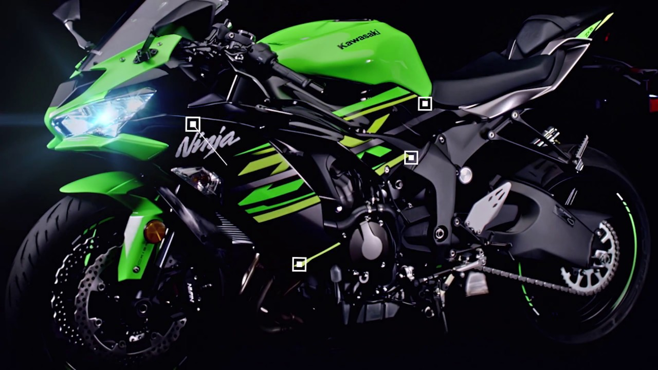 2019 Kawasaki Ninja Zx 6r Features Youtube