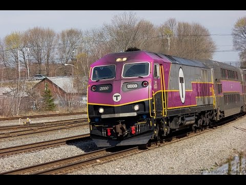 MBTA Commuter Trains in Middleboro