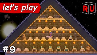 Avian Bug Collection Pyramid | Let's play Starbound Asteroid Base ep 9