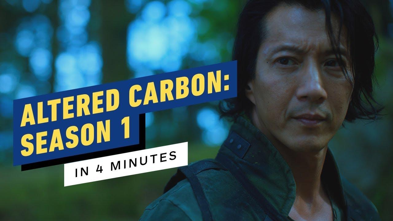 Altered Carbon: Saison 1 en 4 minutes + vidéo