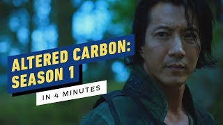 Altered Carbon: Season 1 Story Recap in 4 Minutes