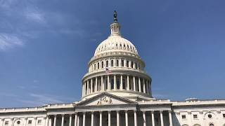 В СТОЛИЦЕ США ВАШИНГТОН под куполом Капитолия 08.2017 брожу по Библиотеке Конгресса