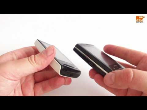 Sony Ericsson XPERIA X10 mini versus XPERIA X10 mini pro - DESIGN