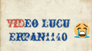 Gambar cover Vidio Lucu Erpan1140 Nyebur Air Kencing Yang Bau
