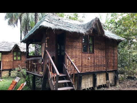 A tour of AbCa's Creek Lodge, Kassagne, The Gambia