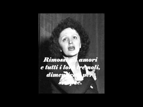 Traduzione in Italiano - Non, Je Ne Regrette Rien