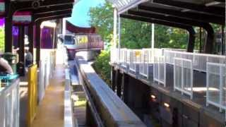 Seattle Monorail Ride-Complete Ride from Space Needle to Downtown