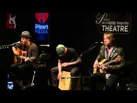 Lifehouse - Hurricane (Acoustic) @ Mix 100.7 Tampa Bay 19th February 2015